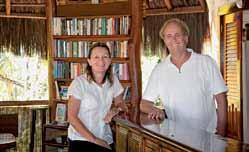 bei Marga und Helmut in der Pousada Colibri