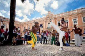 Akrobatisch und kraftvoll: Capoeira