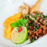 Herbstlicher Pilzsalat