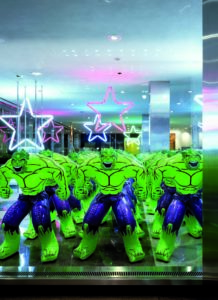 The Hulks - Jeff Koons, Lever House Art Collection