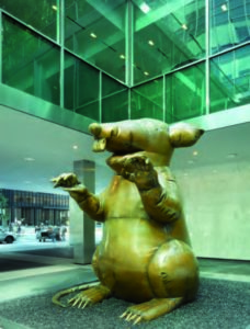 The Bruce High Quality Foundation Rat, Lever House Art Collection
