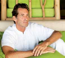 Massage- und Wellness-Heilers Bill Curry im Six Senses Spa des Soneva Fushi auf den Malediven