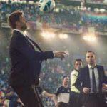 """Szenen-Bild aus der neuen Nike """"My time is now""""-Kampagne mit Gerard Piqué und Andrés Iniesta (FC Barcelona)"""