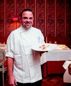 Oliver Näve Chef-Pâtissier im Gourmet-Restaurant Français des Steigenberger Frankfurter Hof