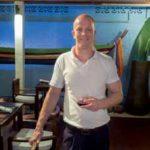 Ferdinand Dienst im Barracuda Restaurant