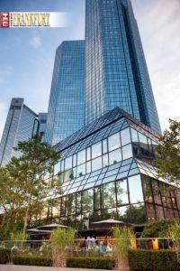 Im Schatten der Bankentürme sollte ursprünglich ein anderes Restaurant eröffnen. Das GoboChia.