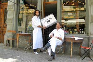 Im Ojo de Agua Frankfurt stehen die eignen Bio-zertifizierten Weine und das eigene Premium Bio Beef von den Farmen Dieter Meier's in Argentinien im Mittelpunkt