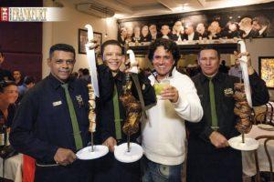 Antonio Saraiva und das Team der Churrascaria Palace