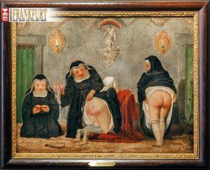 Frivoles Bild aus der Venusberg Bar
