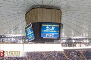 Der Weltrekordversuch ist geglückt - 44.189 Besucher beim Tag des Handballs!