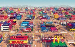Eine Stadt voller Marken - der Animationskurzfilm Logorama wurde 2009 mit dem Oscar prämiert.