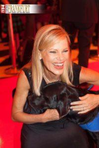 Moderatorin und Hundefreundin Nina Ruge