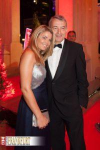 DFB-Präsident Wolfgang Niersbach mit seiner neuen Lebensgefährtin Marion Popp