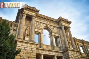 Die klassizistische Fassade des Städel Museums