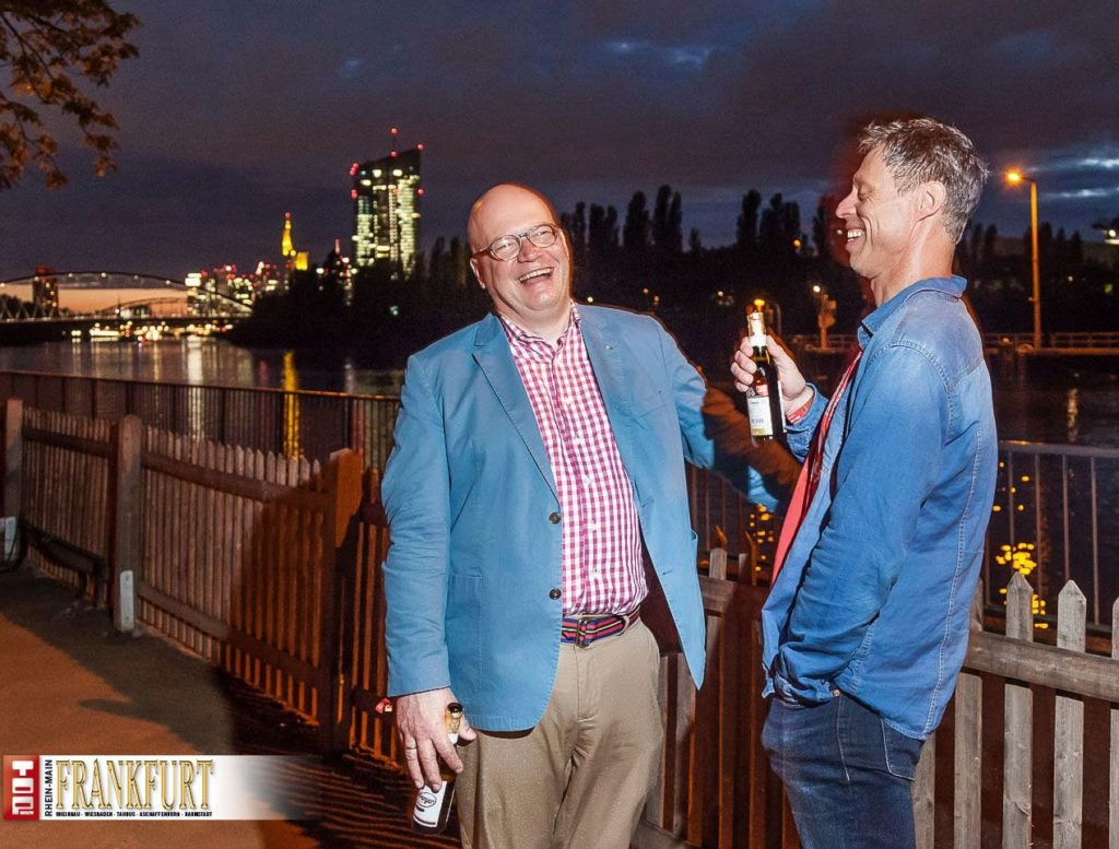 """Humor ist Trumpf - Moderator Achim Winter mit Comedian """"Maddin"""" Schneider"""