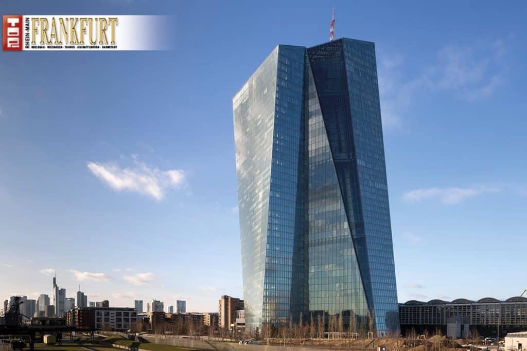 Neubau der EZB in Frankfurt am Main ©Paul Raftery