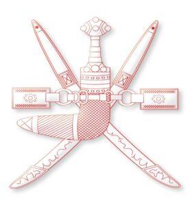 Wappen Omans