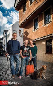 """Boris Löffert, Oliver Tamagnini und Eva Kösling von """"Der kleine Mann mit dem Blitz"""""""