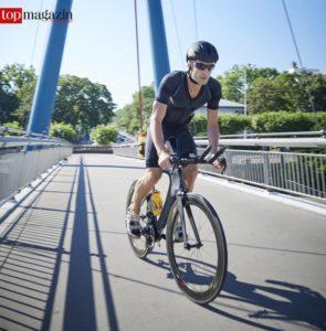 EMS-Training auf dem Fahrrad - das könnt schon bald Realität werden! Einen entsprechenden Ganzkörperanzug hat ein Frankfurter Startup bereits entwickelt.