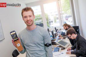 Gymwatch-Gründer Fabian Walke im Darmstädter Technologie- und Innovationszentrum