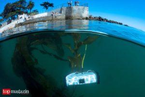 OpenROV Trident unter Seetang