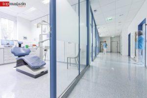 Dentale Kompetenz auf höchstem Niveau mit 15 Behandlungszimmern