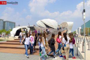 Die Expo Mailand zieht gleichermaßen Touristen wie Schulklassen an.