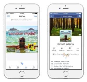 Profil im Ferien-Modus: Profilbilder sollen künftig auch temporär eingesetzt werden.