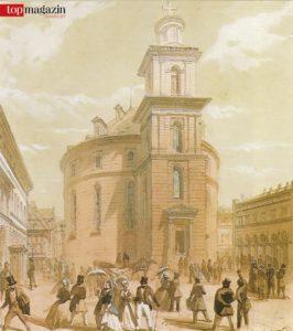 Die Paulskirche um 1848