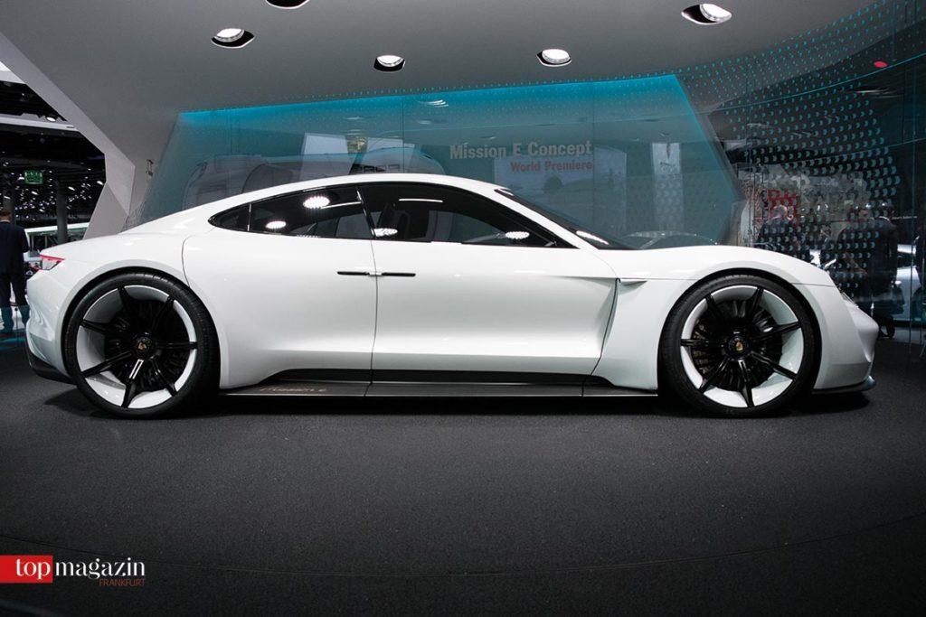 Porsches Antwort auf Tesla - der Mission E