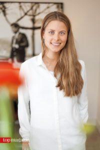 It-Girl und Unternehmerin Irene Forte