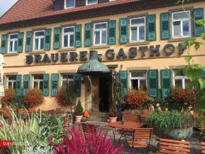 Der Brauerei-Gasthof Dachsenfranz