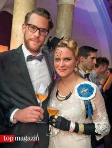 Mirko Lenhard mit Anna Seibel (Pomp)