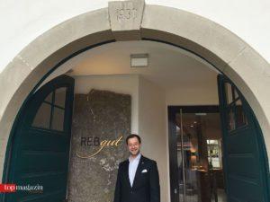 Christian Rudert, Mâitre d'hotel im Rebgut