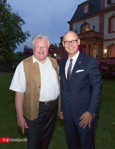 Dehoga-Vorstände Michael Hagspihl und Eduard M. Singer