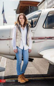 Flugschülerin Clara