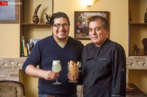 Miraflores-Inhaber Christian Cueva Pacheco und Küchenchef Mario Laguna Farfan