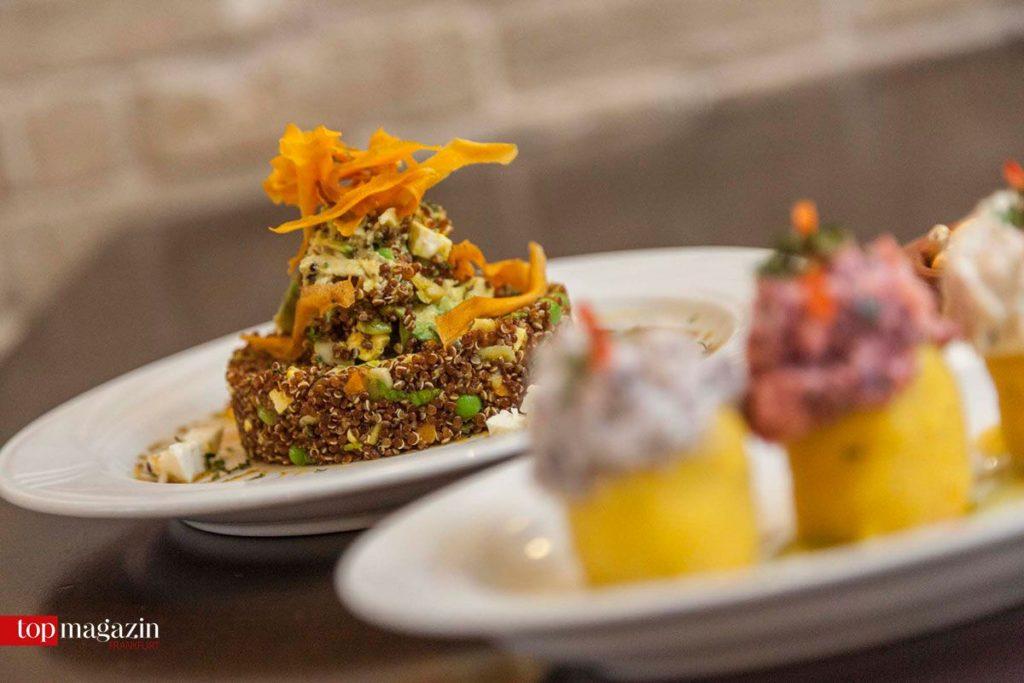 Quinoa-Salat im Miraflores