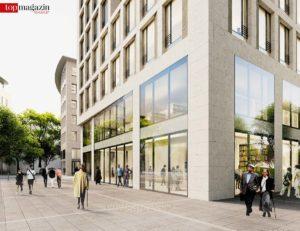 9.000 Quadratmeter Büro- und 2.200 Quadratmeter Einzelhandelsfläche sollen entstehen.