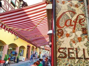 Das Café Sell in Miltenberg