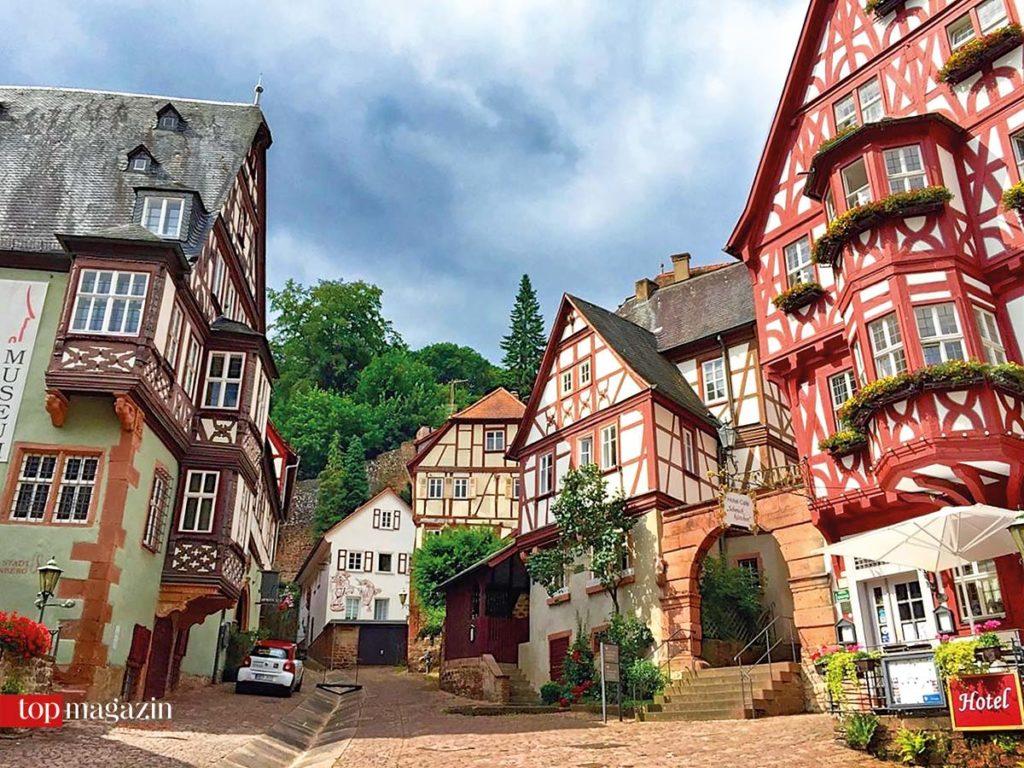 Die malerische Altstadt von Miltenberg