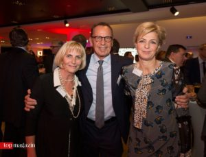 Filmmuseum-Direktorin Claudia Dillmann mit Dr. Dr. h.c. Nikolaus Hensel und Annette von Zitzewitz (Zitzewitz Kommunikation)