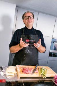 """""""Wenn ich koche, muss es krachen"""", so Markus Majowski"""