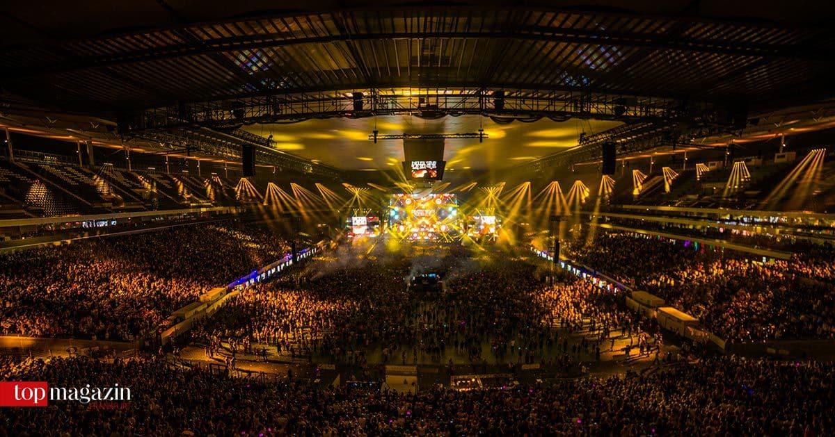 Die Performance von Dimitri Vegas und Like Mike im letzten Jahr (Foto World Club Dome)