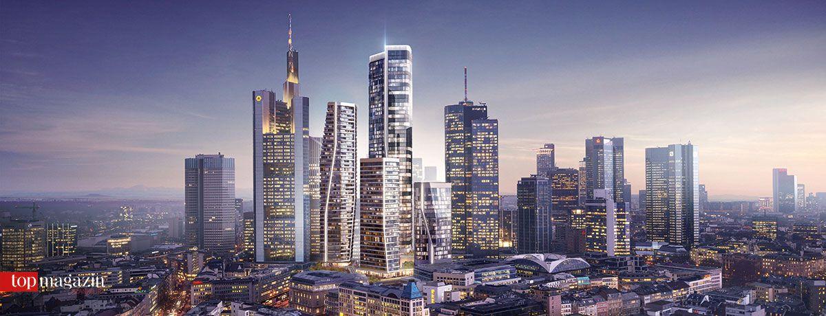 'FOUR' wird auf dem ehemaligen Gelände der Deutschen Bank entstehen.
