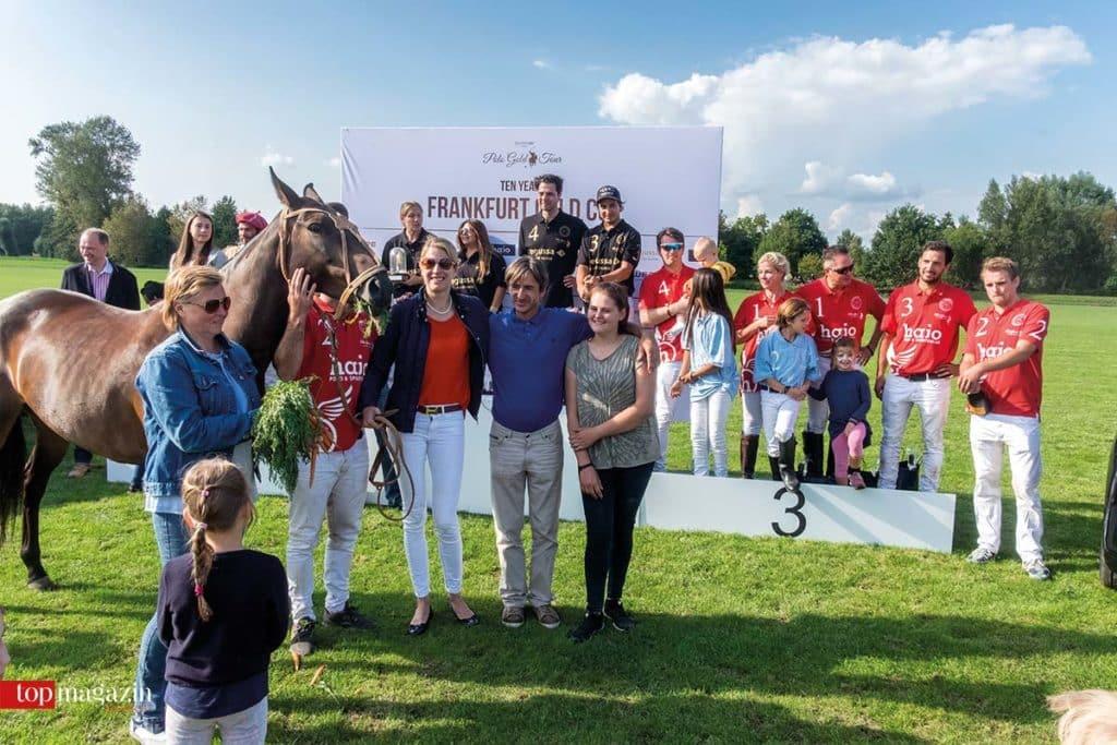 Die Sieger-Teams mit dem erstmalig gekürten besten Pony