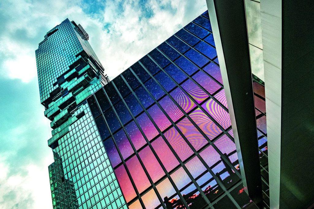 Maha Nakhon in Bangkok ist mit 313 Metern das höchste Gebäude in Thailand