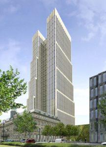 Schon 2011 erarbeitete Architekt J. Franzke im Auftrag des Landes eine Konzeptstudie, die zeigte, wie das Gelände in Zukunft aussehen könnte.