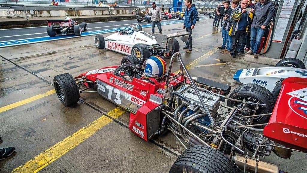 Monoposti aus zwei Jahrzehnten - Formel 3-Fahrzeuge von 1964 bis 1984