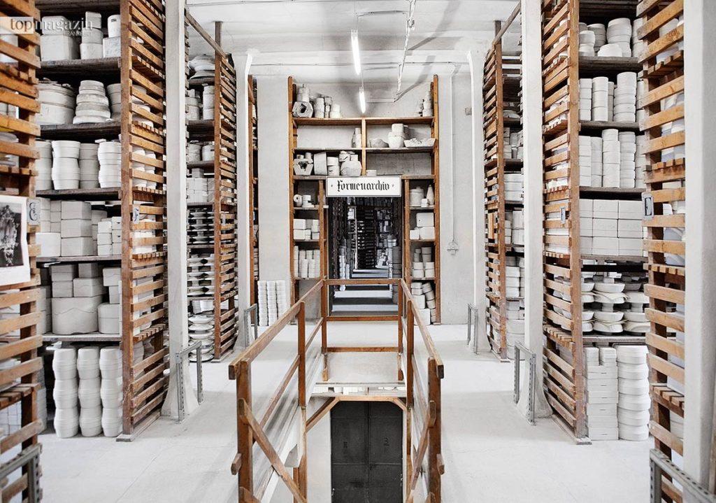Das Formenarchiv der Porzellanmanufaktur Meissen